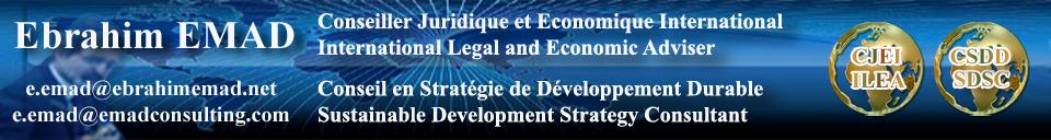 Ebrahim EMAD Conseil en Stratégie de Développement Durable