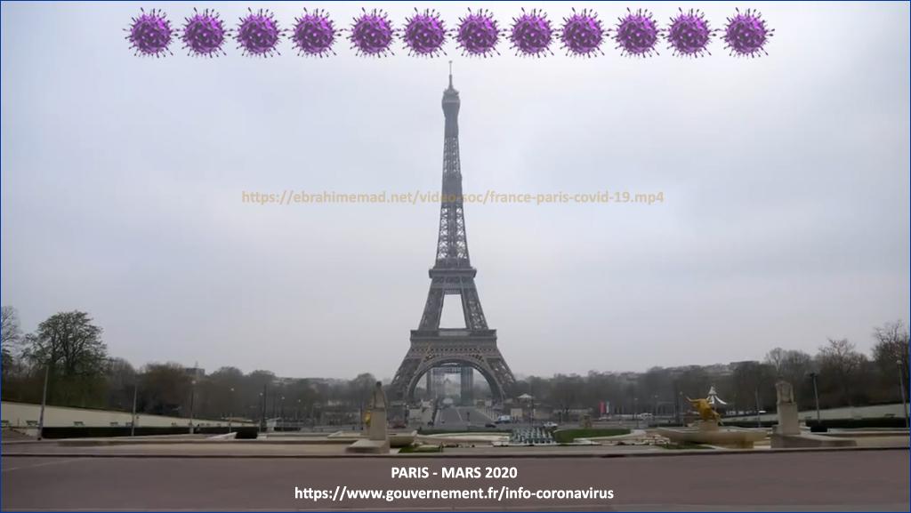 Covid-19 Paris Mars 2020